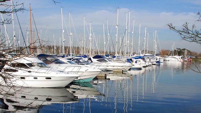 Chichester Marina pic