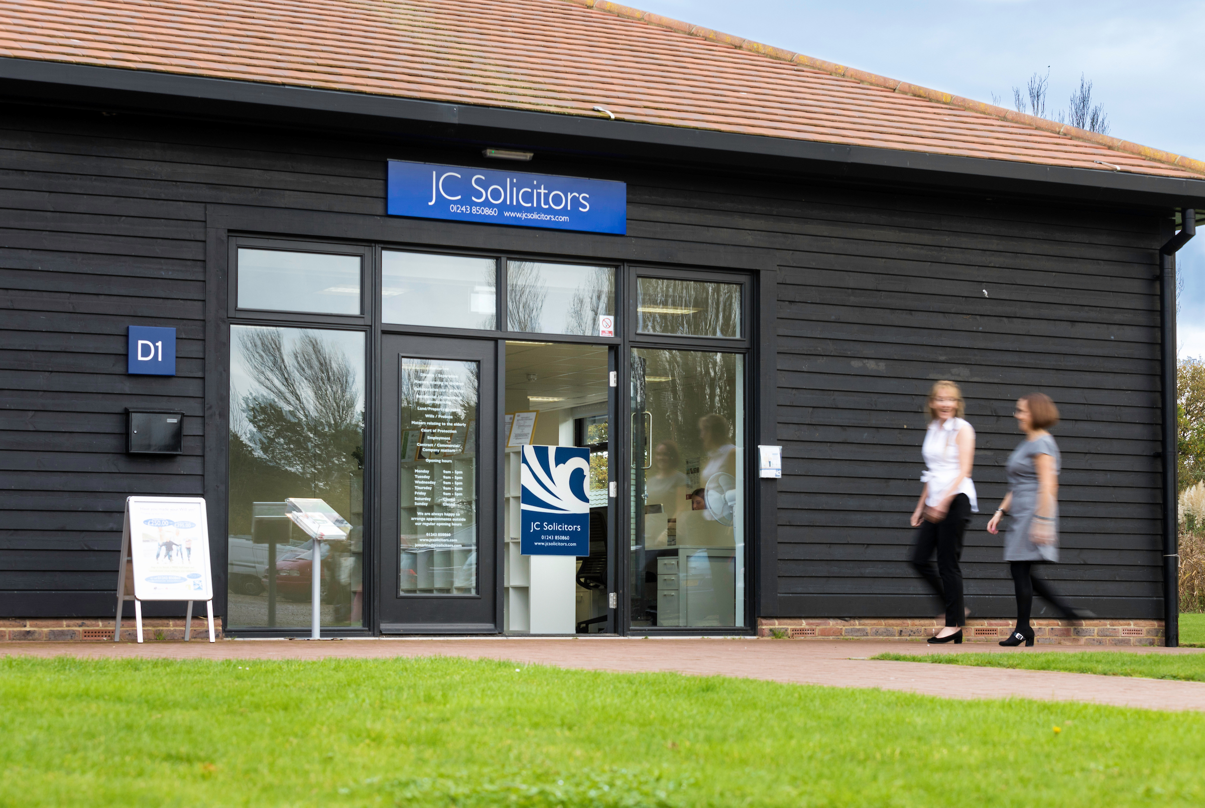 JC Solicitors offices. Chichester Marina, West Sussex